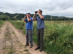 Richard Archer and Damon Bridge of the RSPB